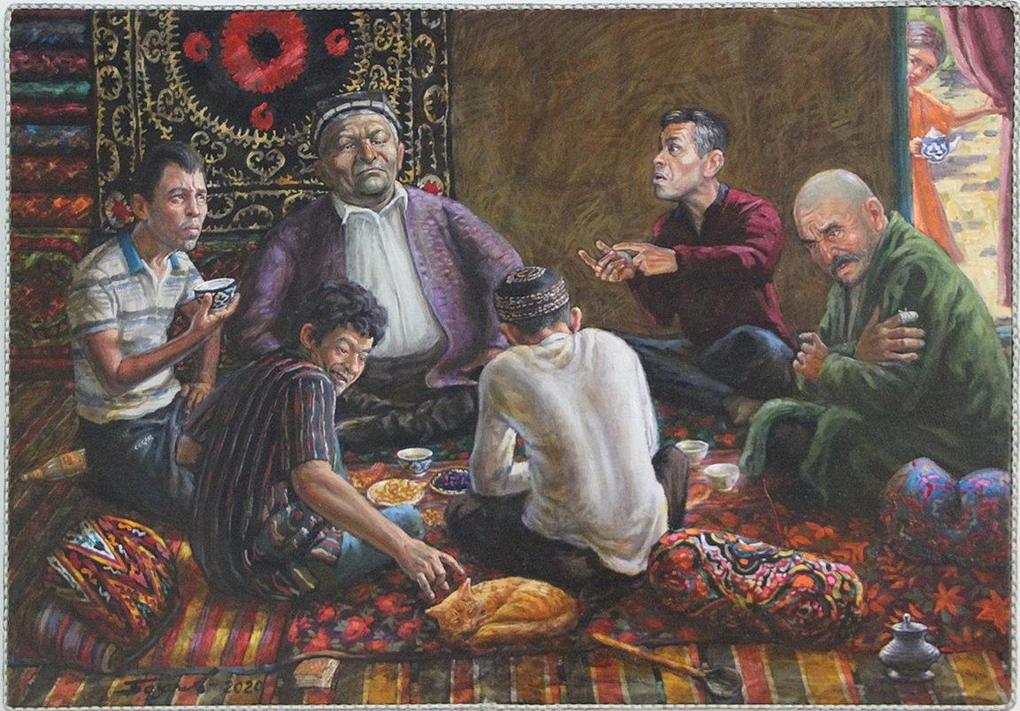 Базаров Рустам. Обсуждение. 2020