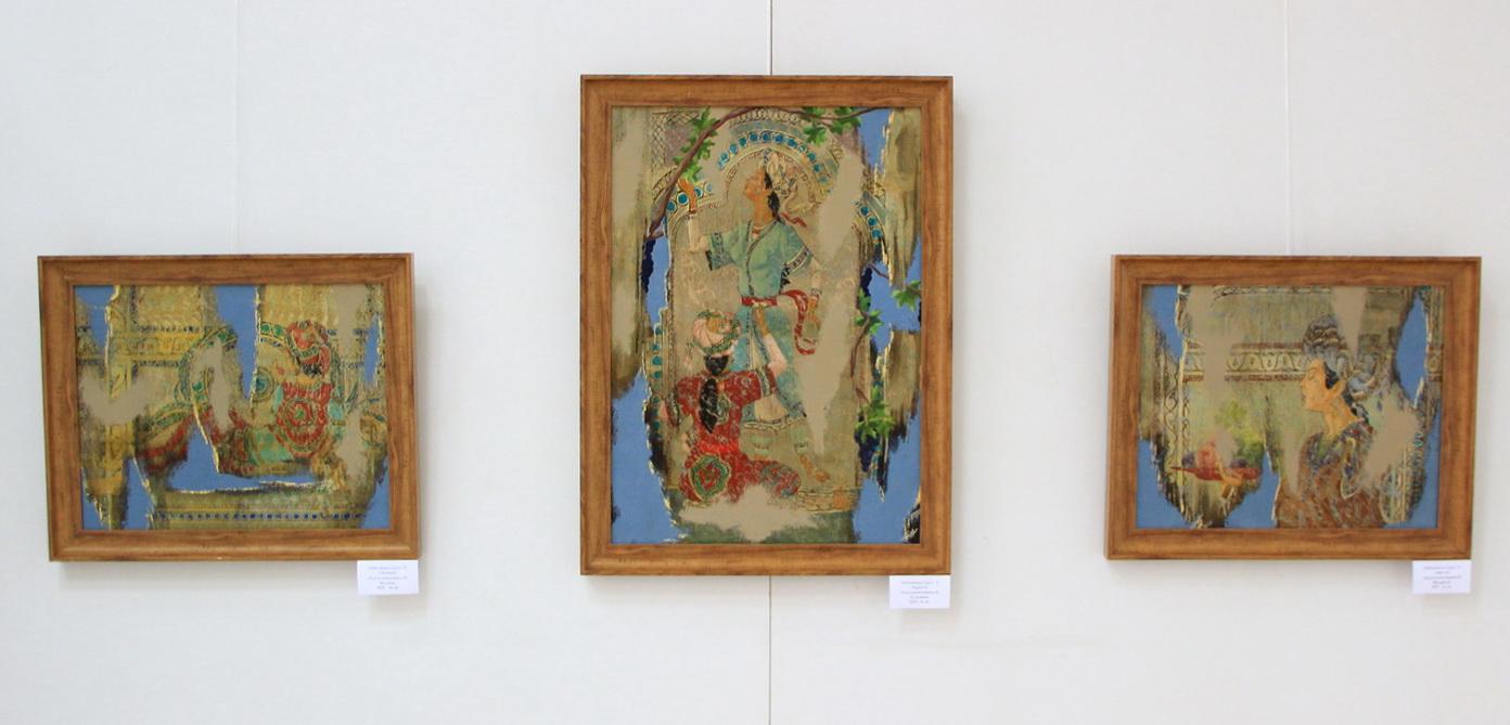 Экспозиция картин Абдусаломходжаева Н. 2020