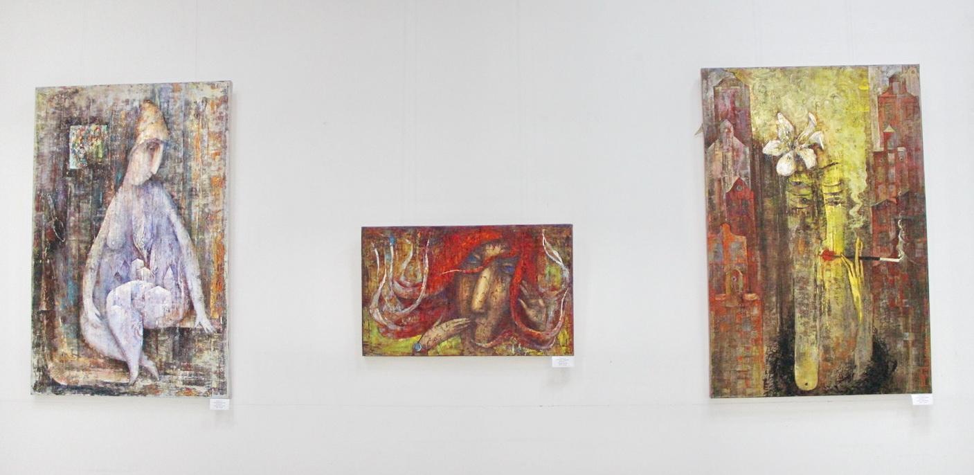 Экспозиция картин Фадеевой Татьяны.
