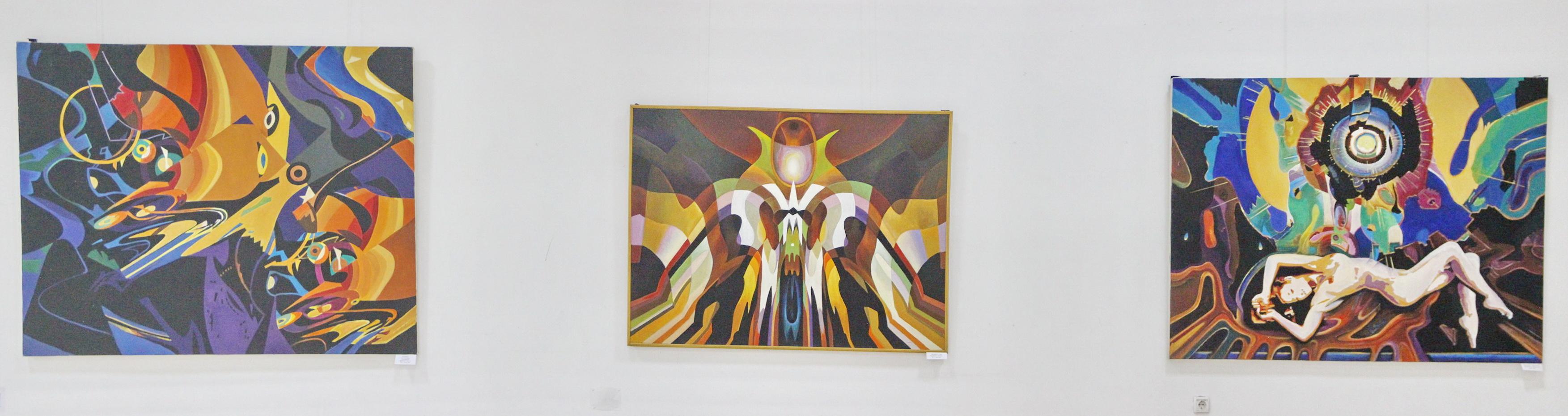 Экспозиция картин Бурмакина В.И.