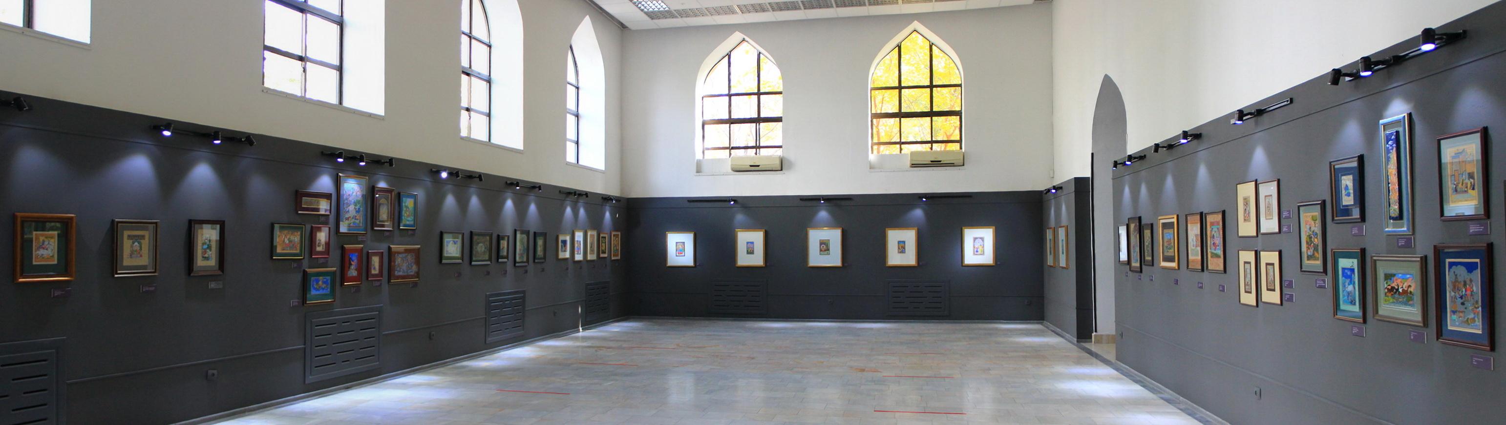 Экспозиционный зал миниатюр