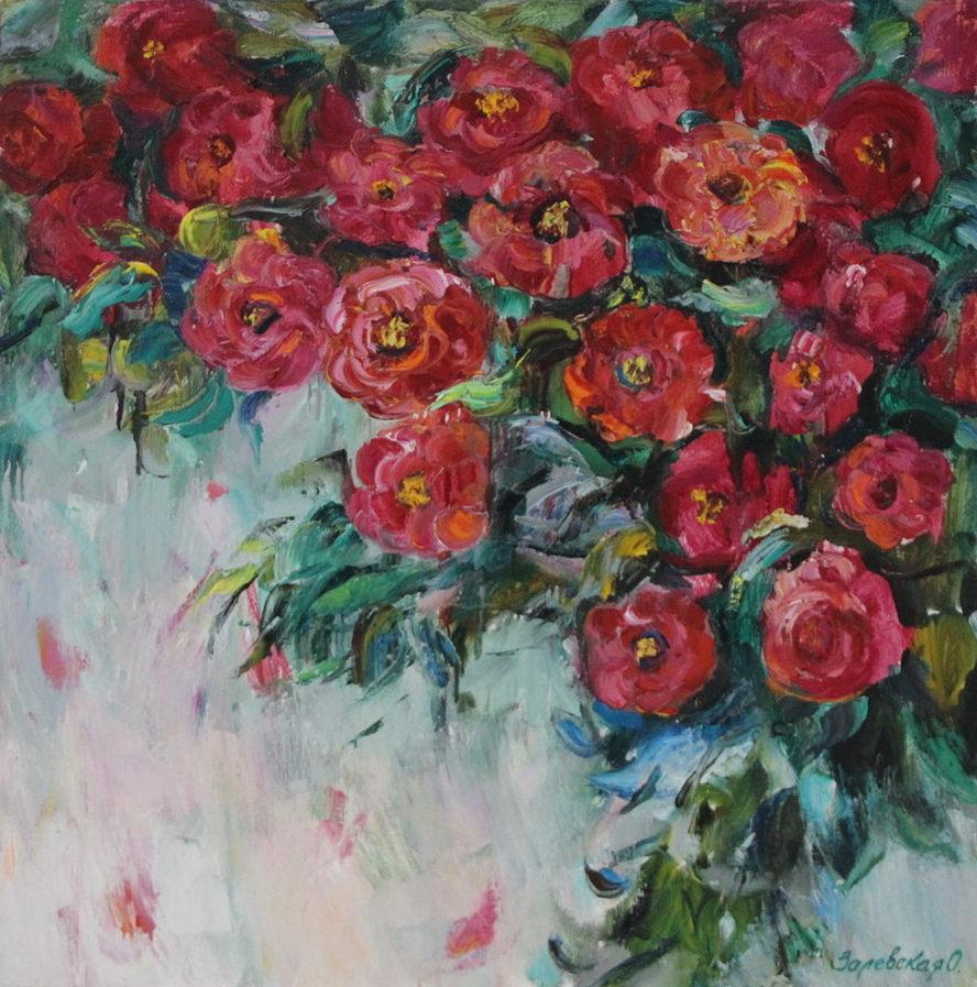 Оксана Залевская. Майские розы.