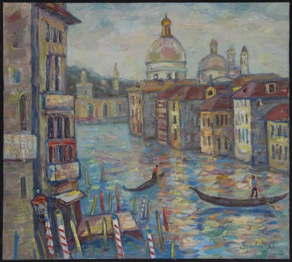 Оксана Залевская. Венеция.