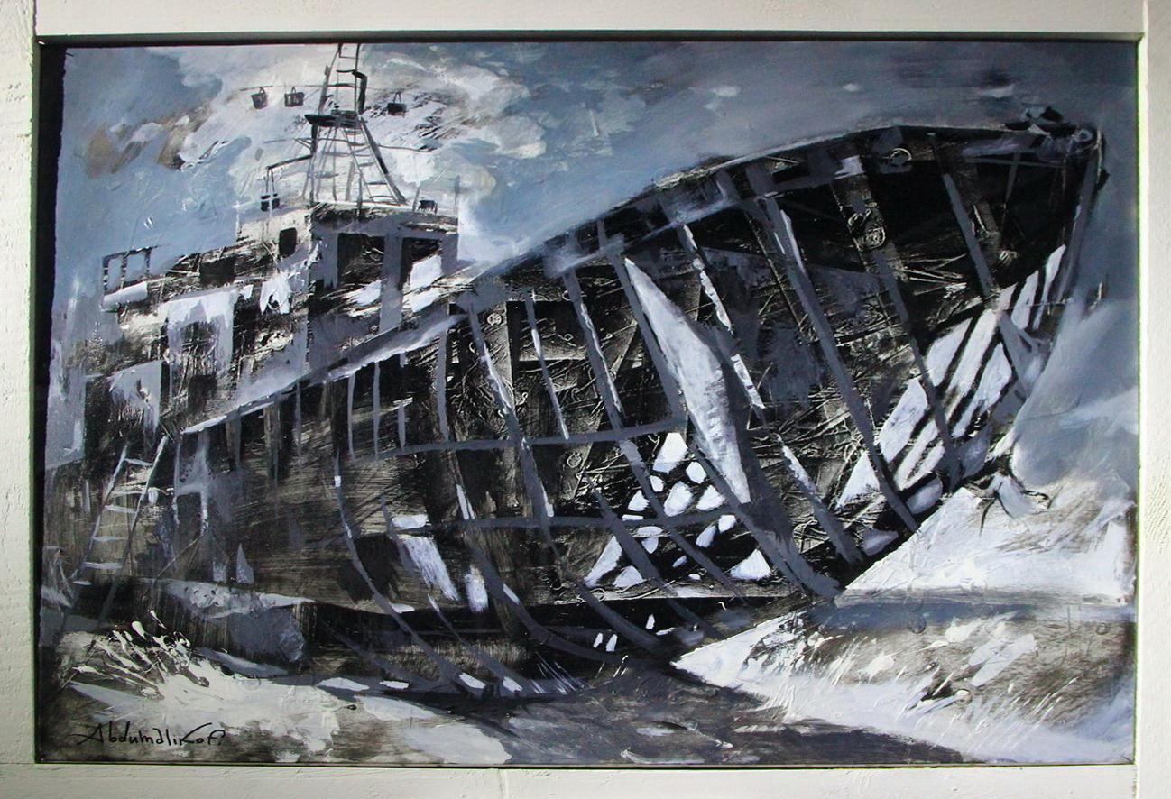 Шухрат Абдумаликов. «Одинокая лодка». Э. Агзам