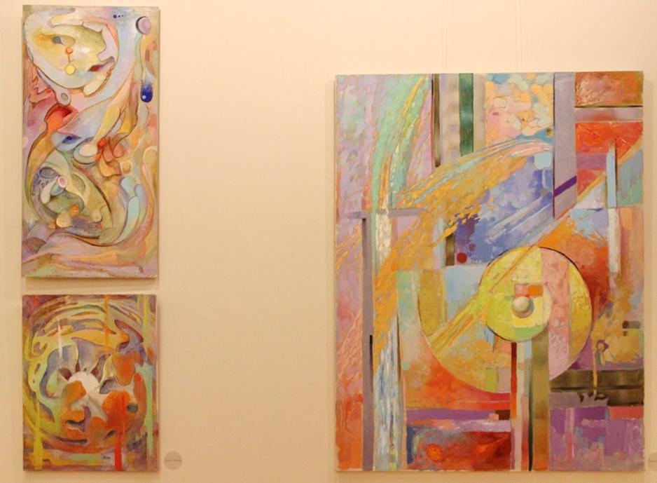 Андрей Чапленко. Экспозиция работ