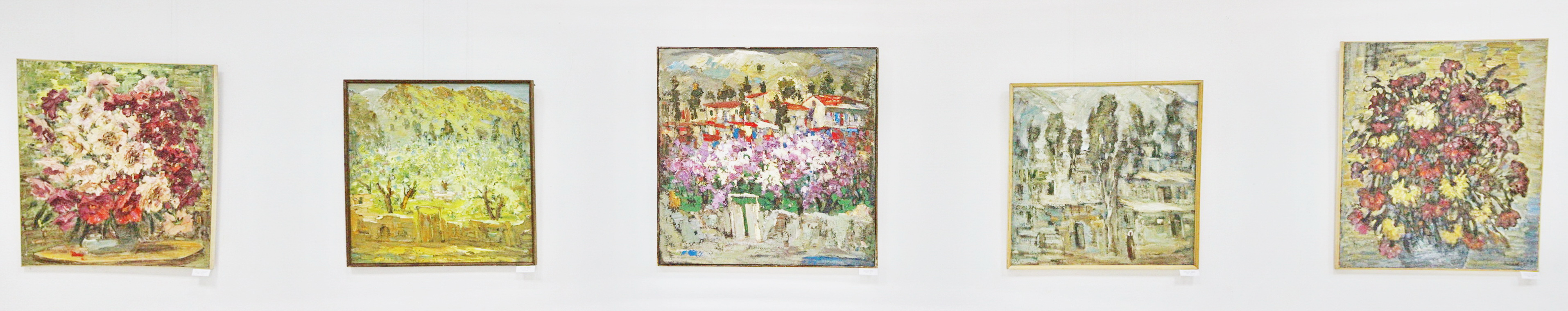 Гаглоева Римма. Экспозиция картин. 2020