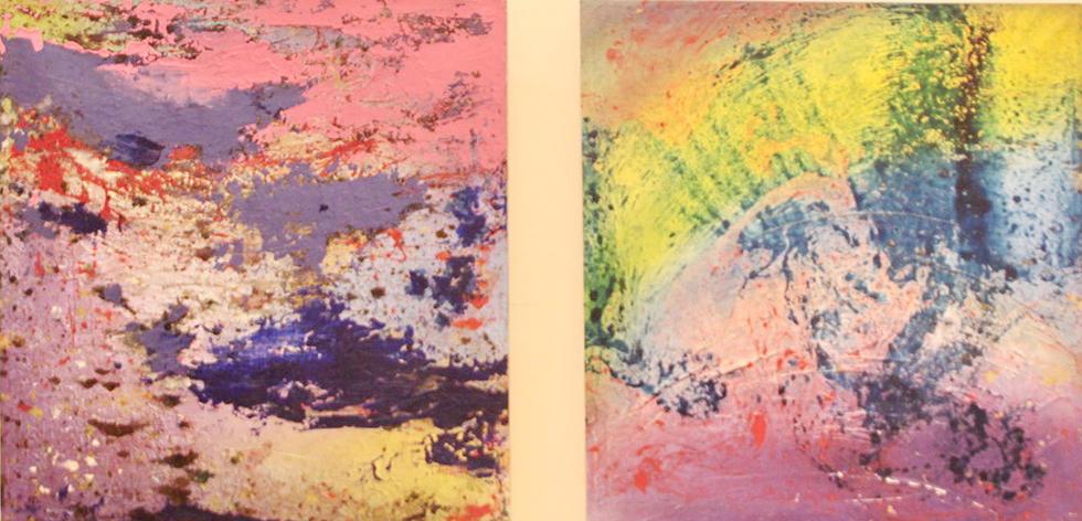 Сарвар Сулейман. Экспозиция картин.
