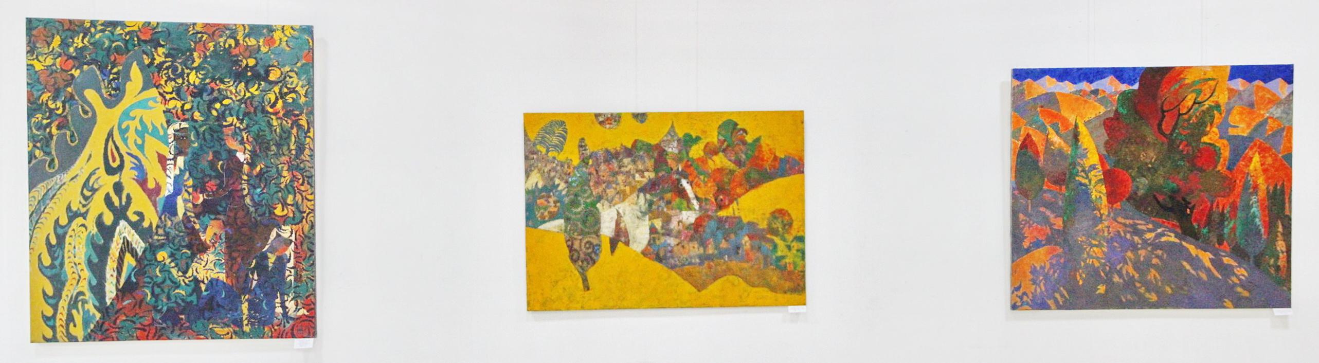 Ахмадалиев Фарух . Экспозиция картин. 2020