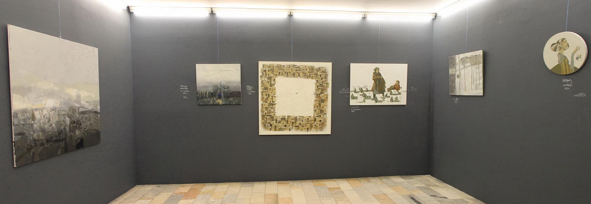 Бабур Исмоилов. Экспозиция картин. 2020 (2)