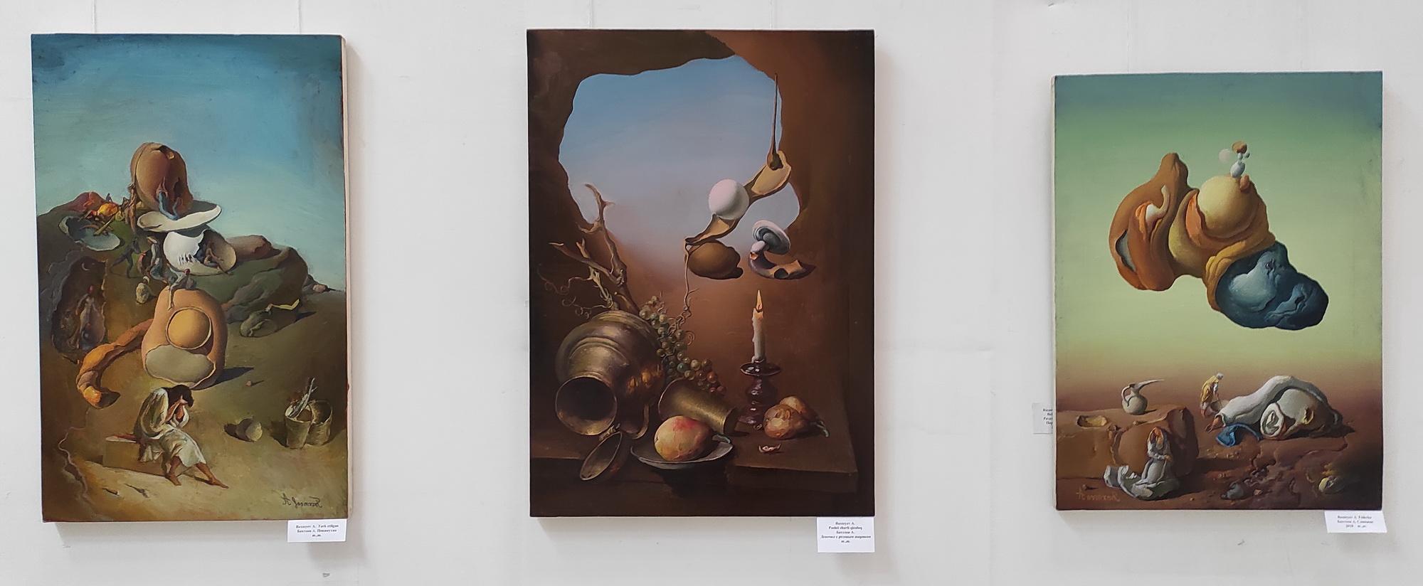 Бахтеев Анвар. Экспозиция картин