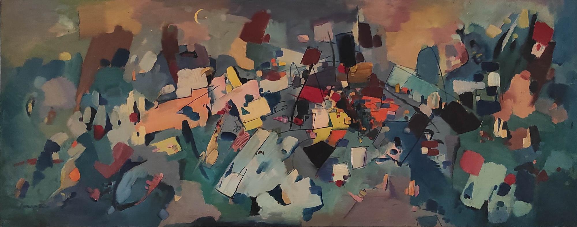 Бахтеев Анвар. Импровизация. 1992