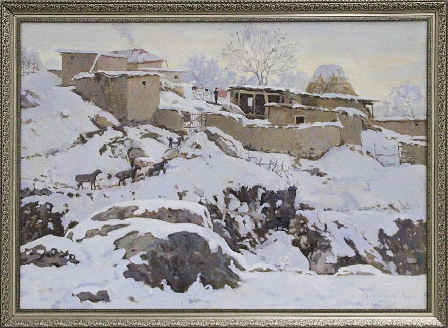 Эгамбердыев Хасан. Зима. 2018