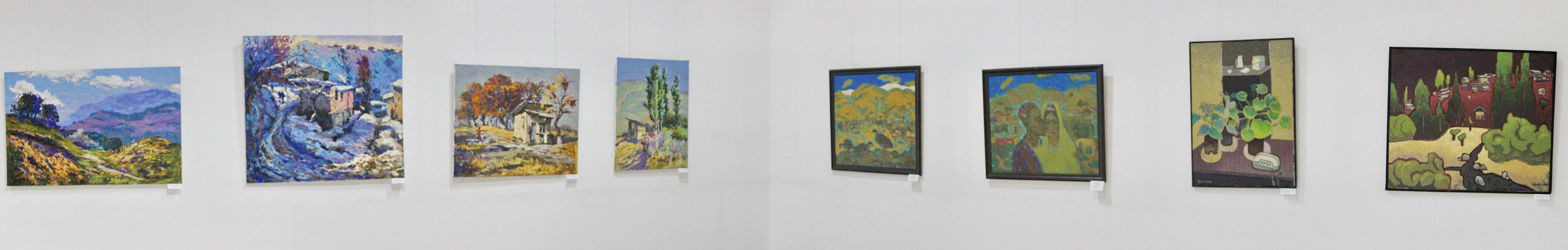 Экспозиция картин