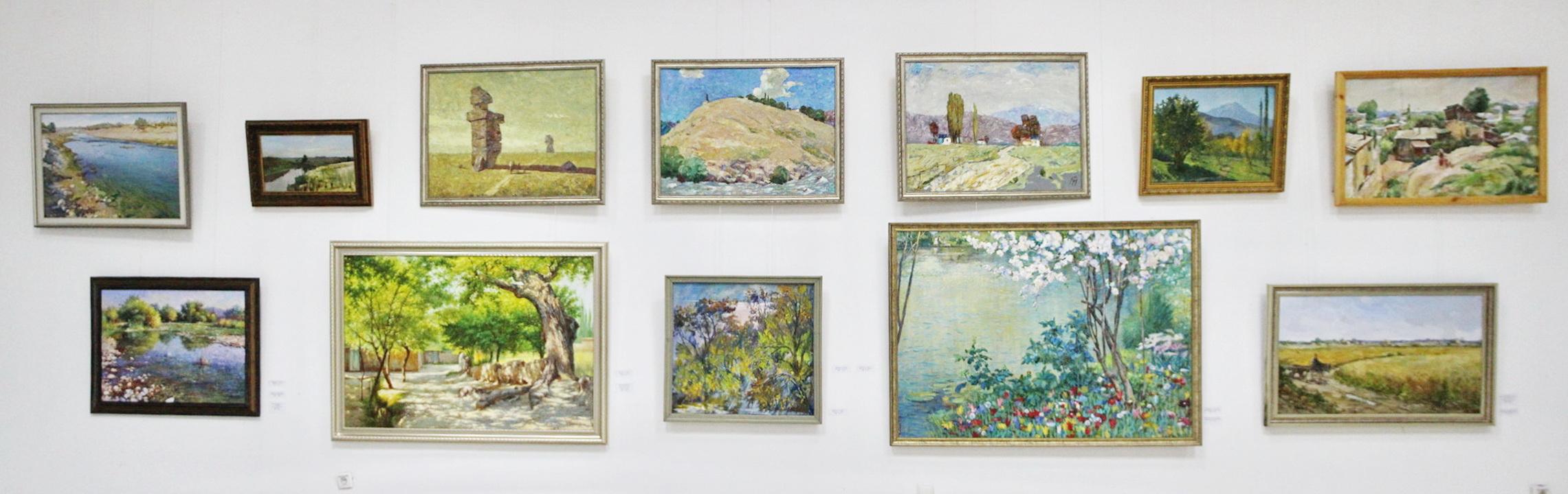 Художник и природа. 2020. Экспозиция картин (2)