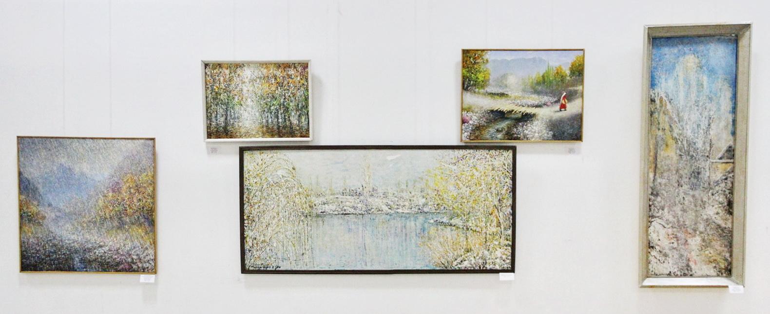 Мирсагатов Анвар. Экспозиция картин. 2020