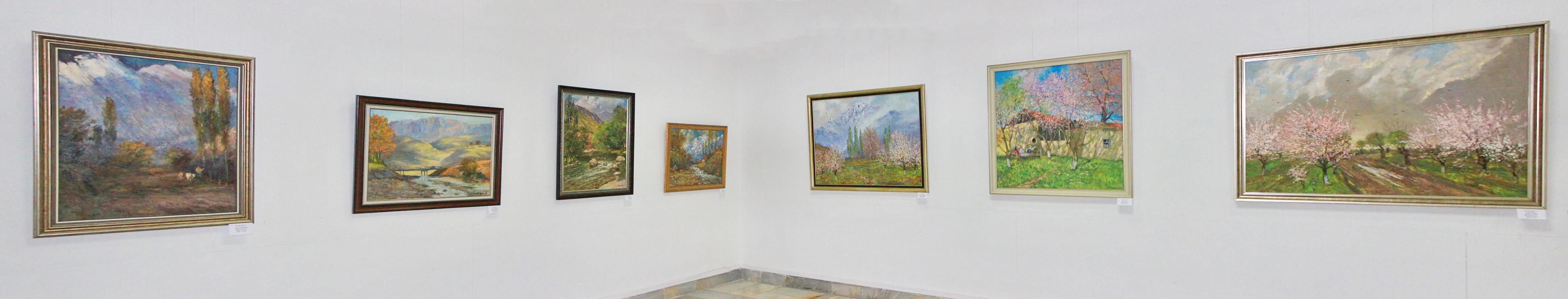 Мирзахмедов Хаким. Экспозиция картин. 2020
