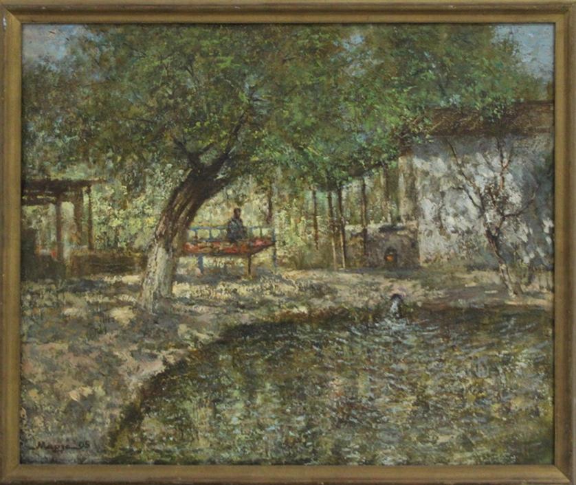 Мирзахмедов Хаким. Полевой стан. 2006