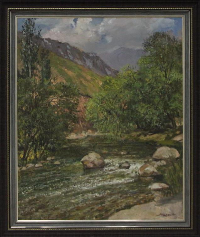Мирзахмедов Хаким. Солнечная река. 2014