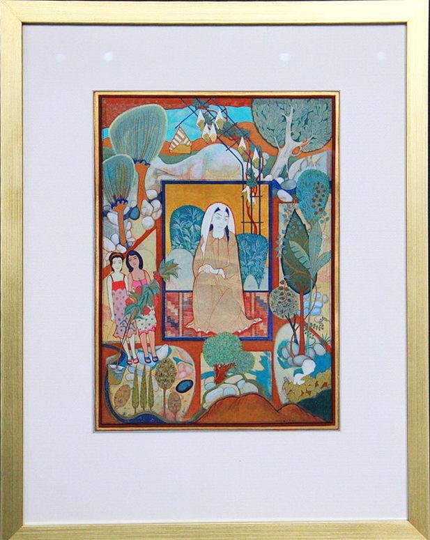 Nijozali-Holmatov.-Mama-s-vnukami.-2006