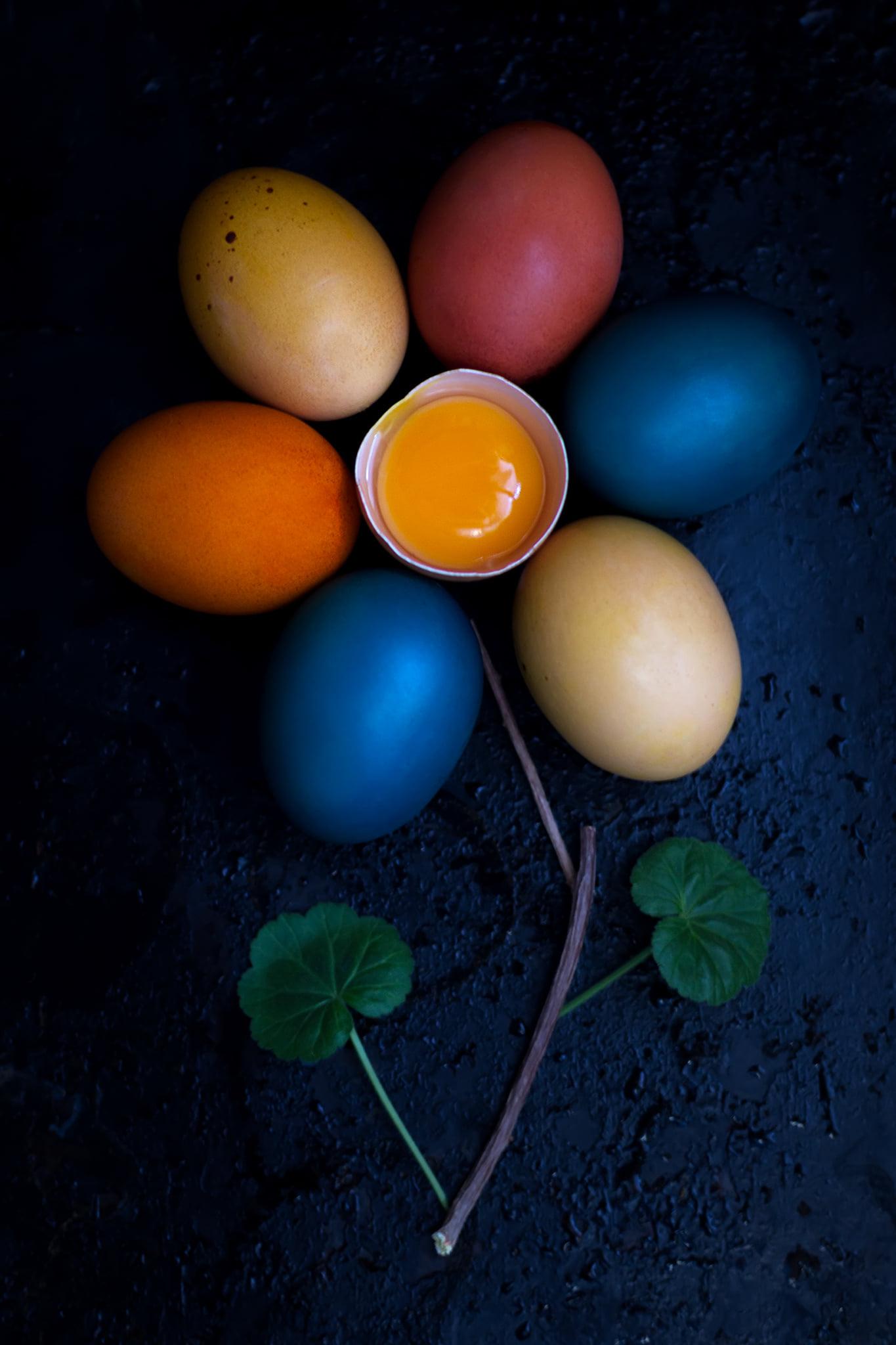 Ника Дмириева. Натюрморт с яйцами