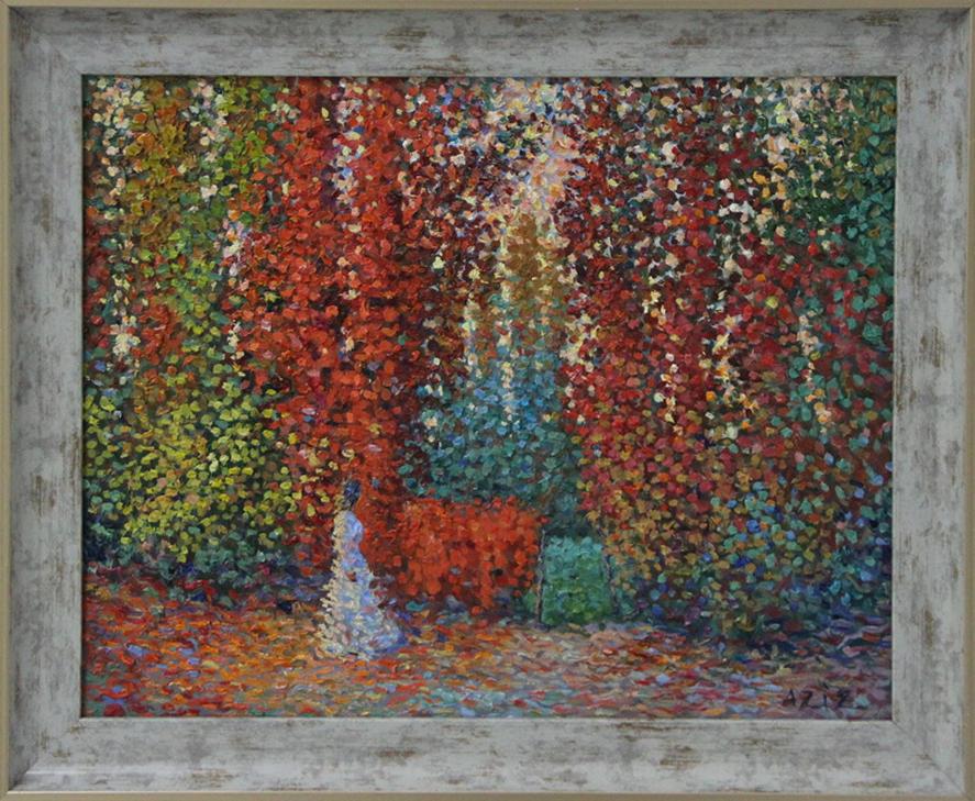 Тешабаев А. Осенний сад. 2020
