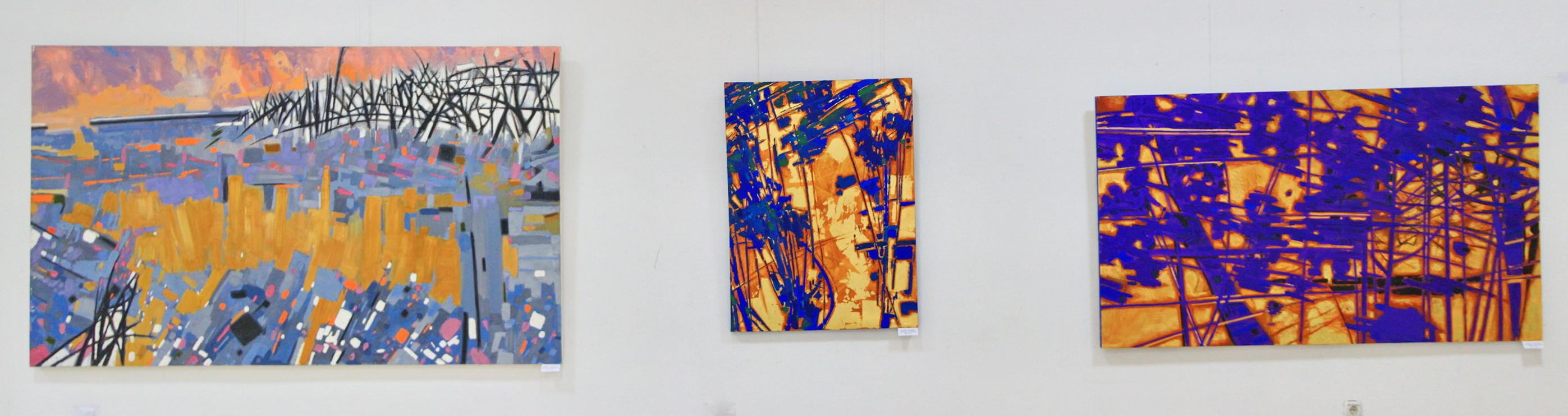 Рахметов Тимур. Экспозиция работ.