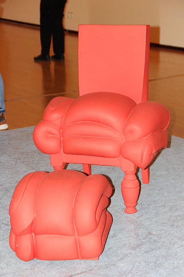 Франк Виллемс Plus de Madam Rubens, Petit pouf Кресло, пуфик 2008