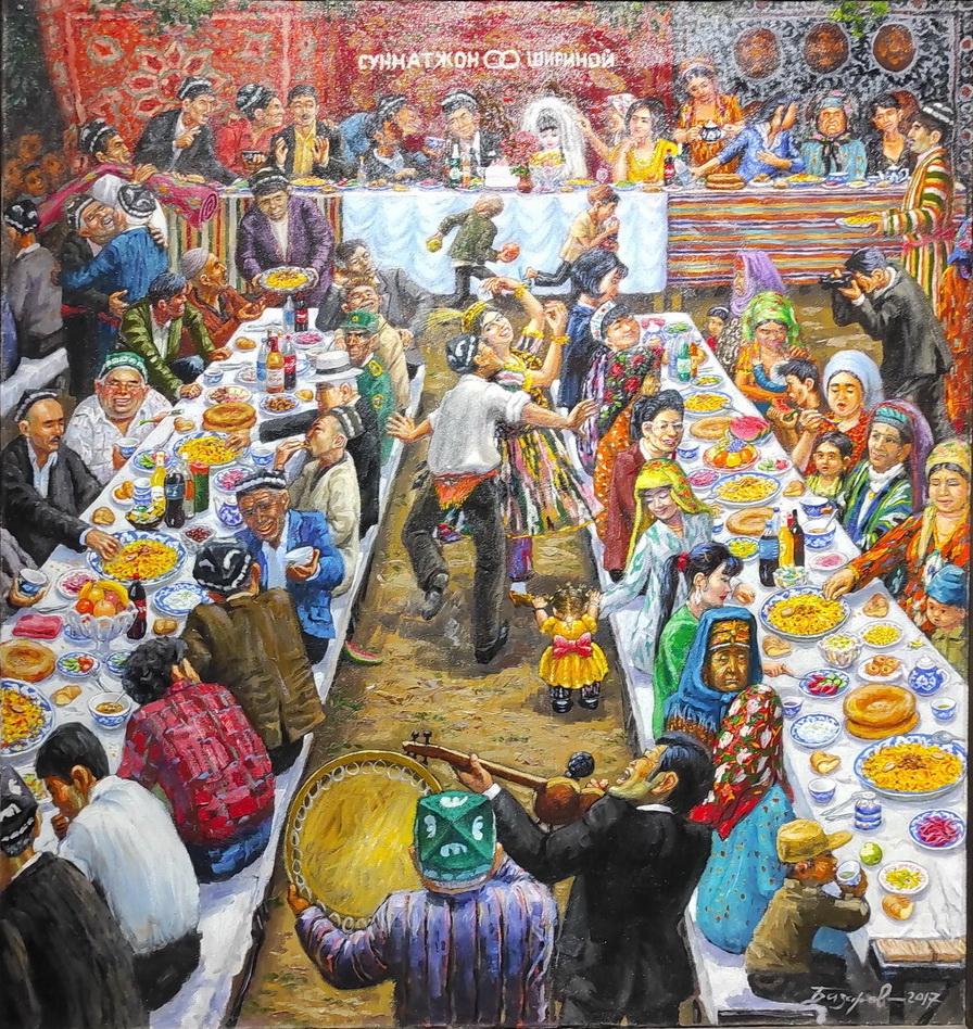 Рустам Базаров. Свадьба. 2017