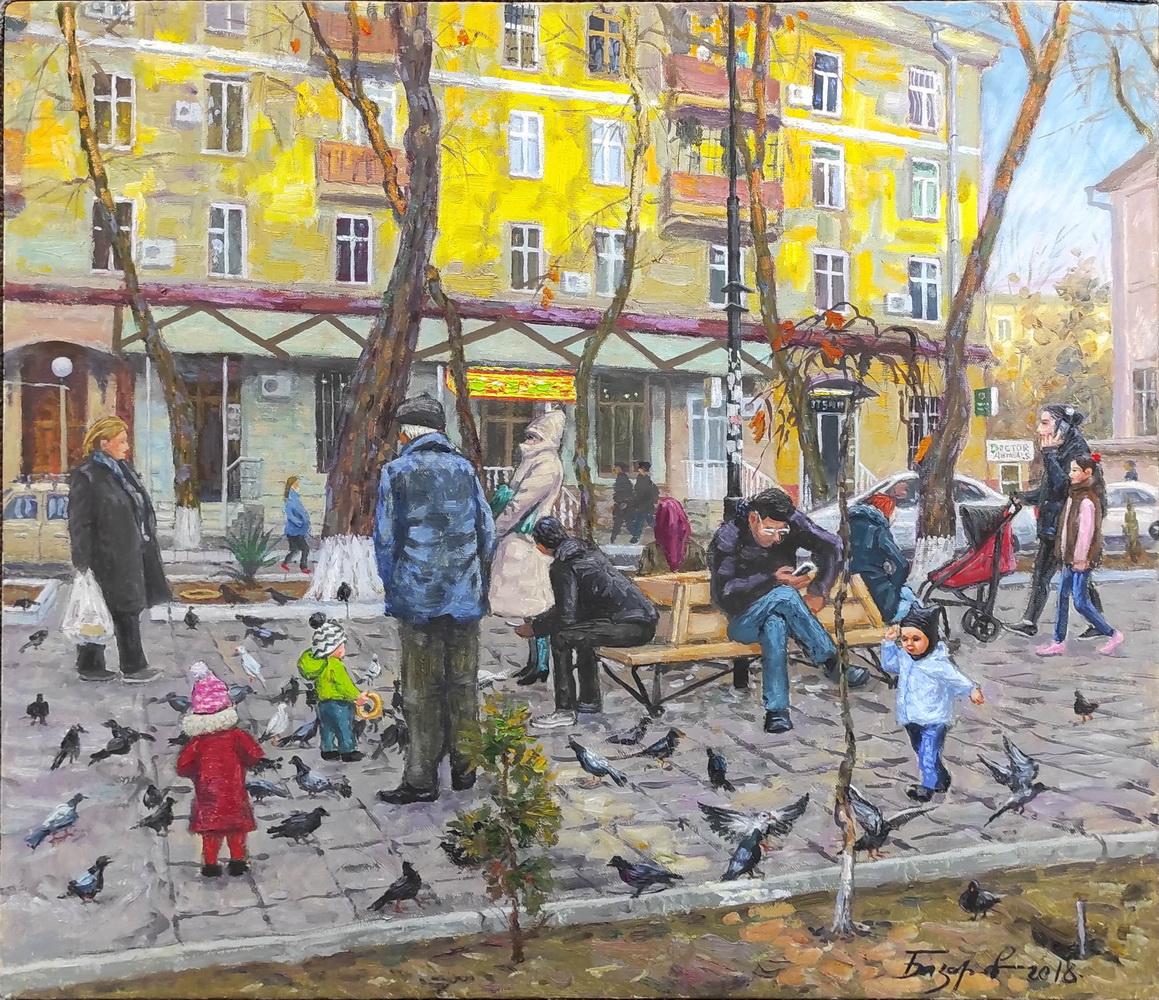 Рустам Базаров. Улица Гагарина. 2018