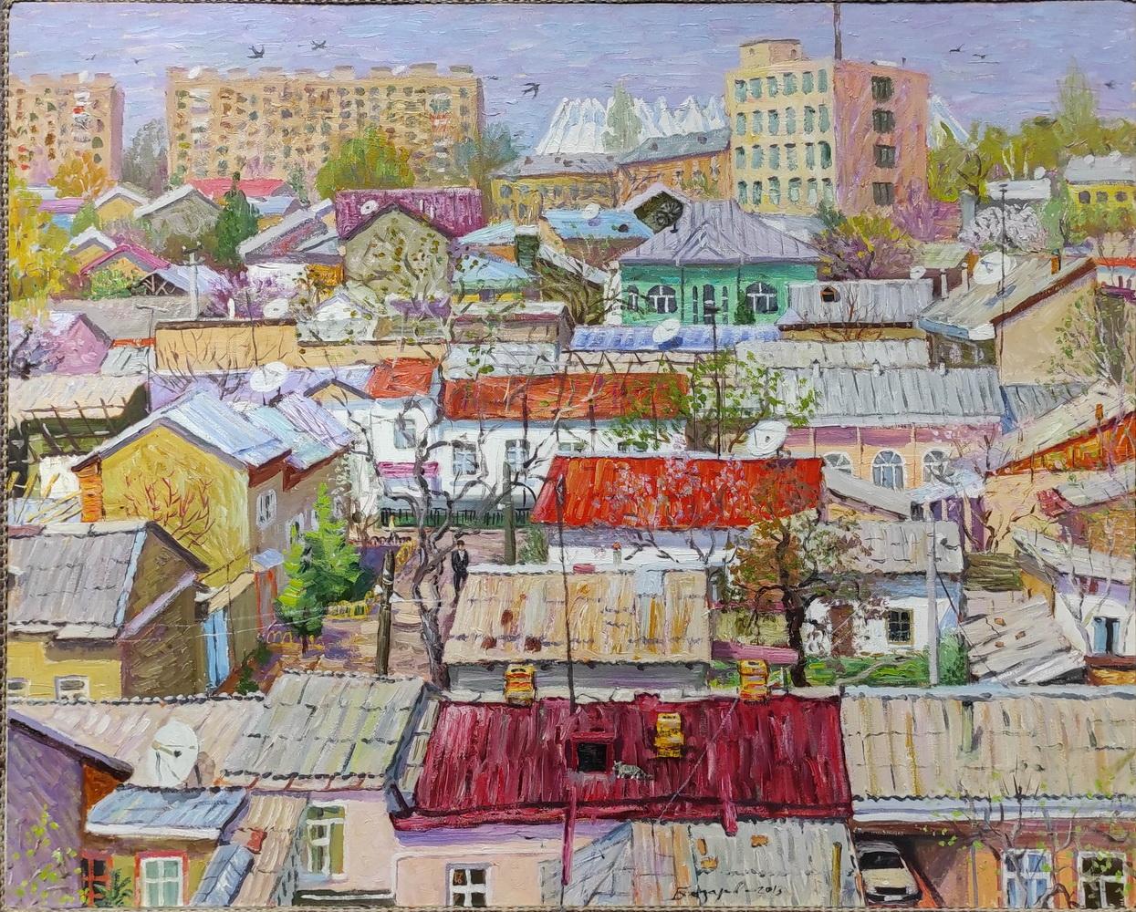 Рустам Базаров. Вид из окна. 2013