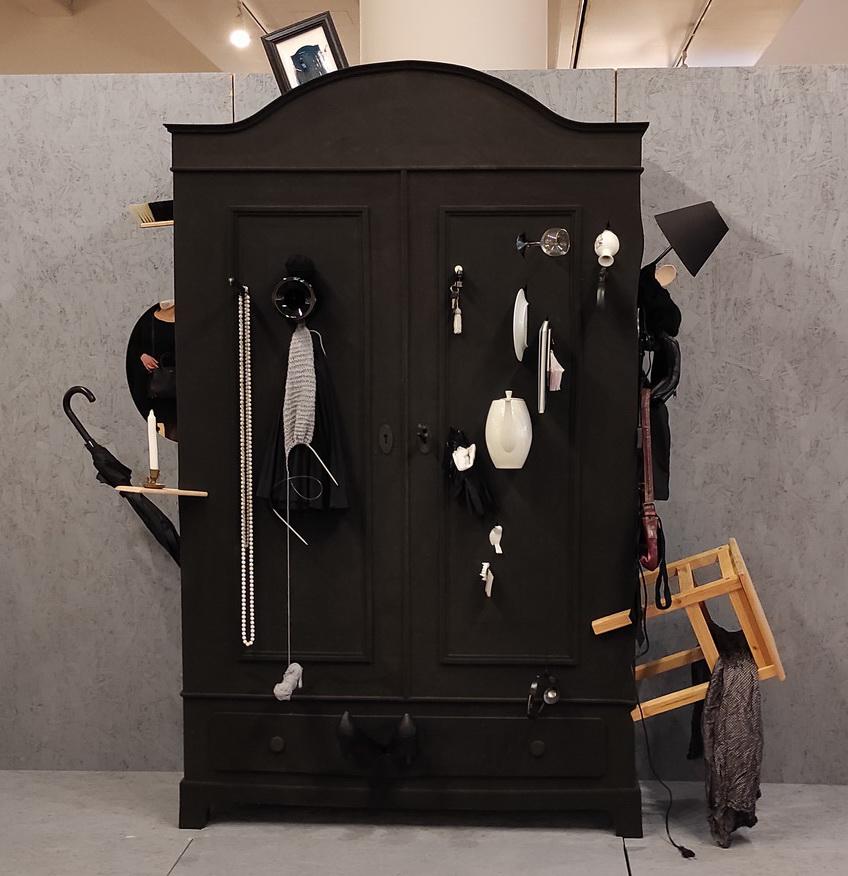 Сильвия Кнюппель Симулянт Серия Домашний порядок Платяной шкаф 2007