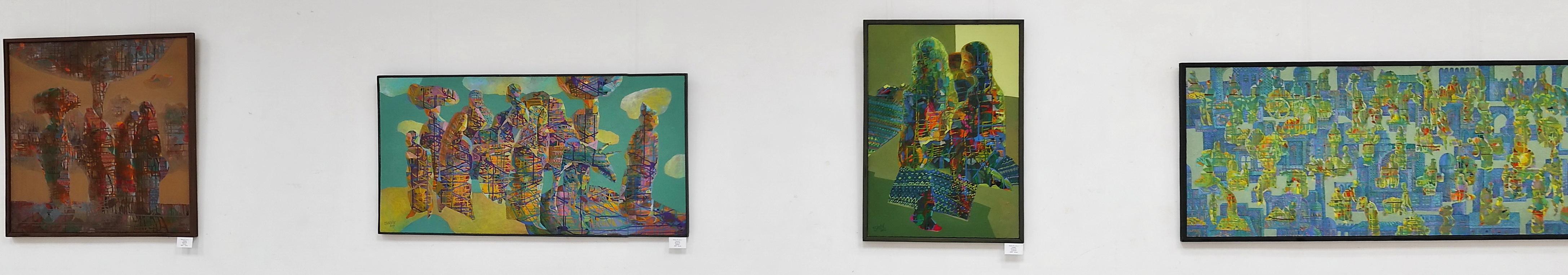 Исаев Аслиддин. Экспозиция картин