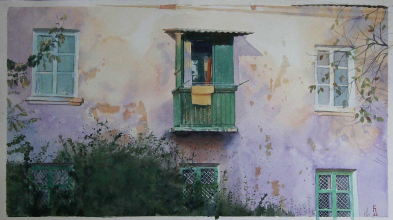 Чирчикский балкон. 2021