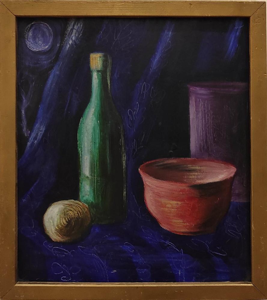 Эркин Жолдасов. Натюрморт с луной. 1983