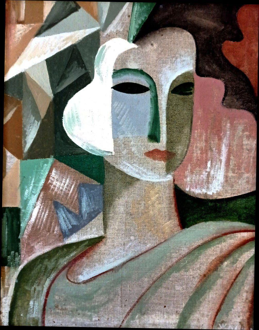 Эркин Жолдасов. Женщина 30-х годов. 1981