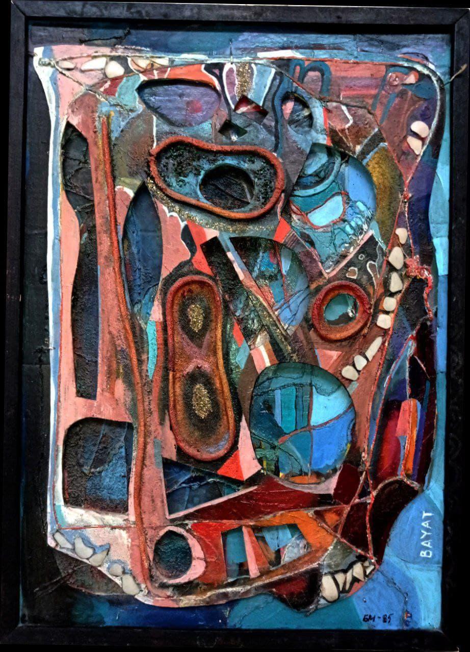 Панно «Абстракция». 1985 г.,