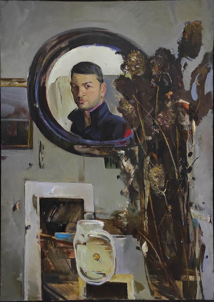 Рузыбаев Д. Автопортрет. 2020