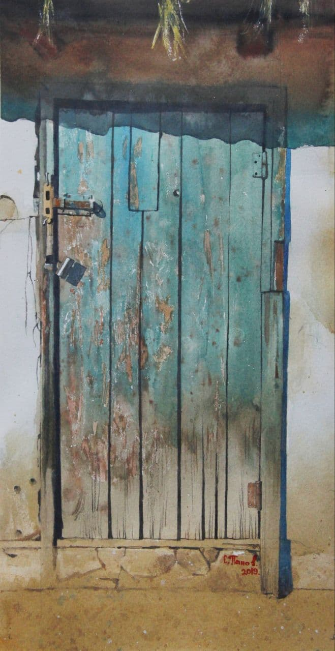 Старая дверь. 2020 (2)