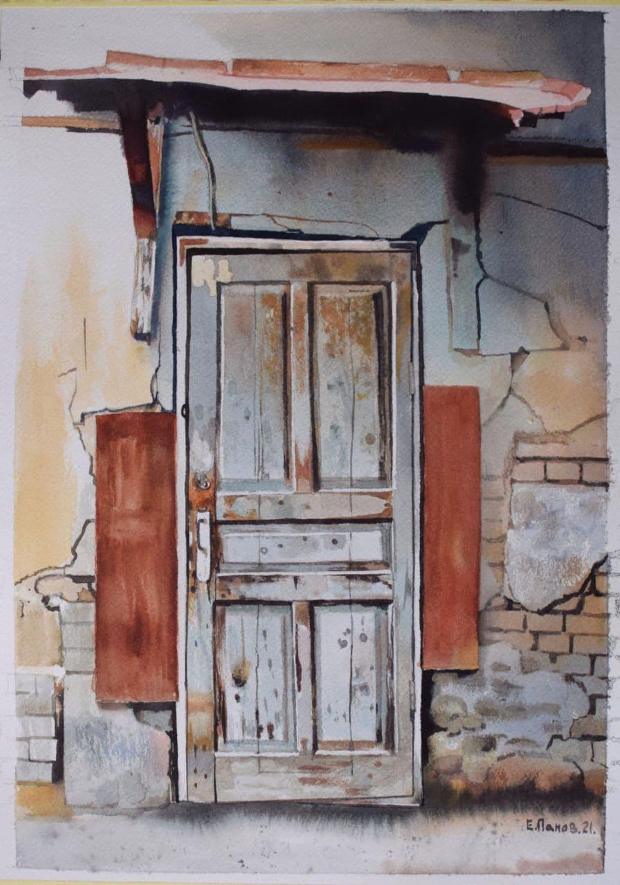 Старая дверь. 2020
