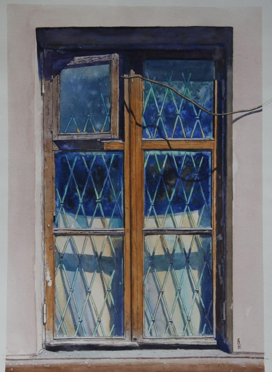 Старое окно (греческий городок) 2021