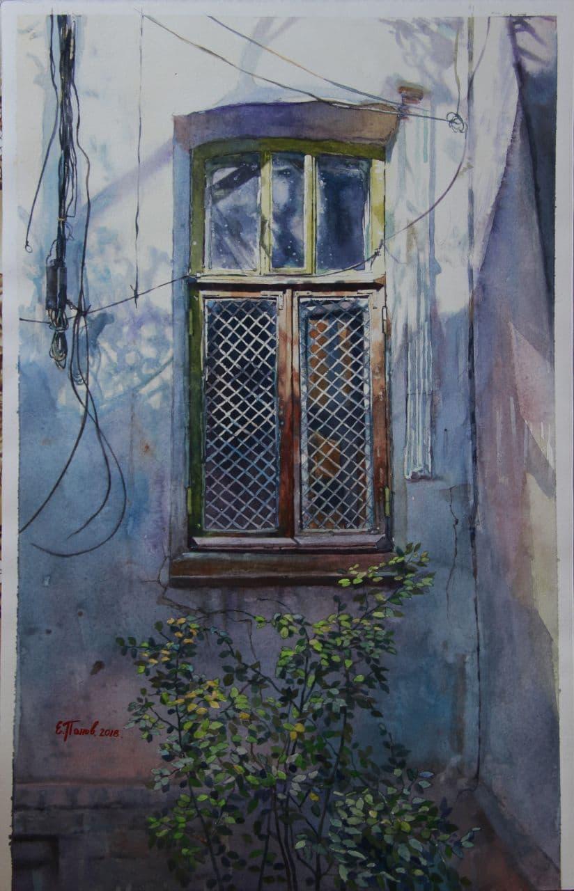 Старое окно на Дархане. 2019