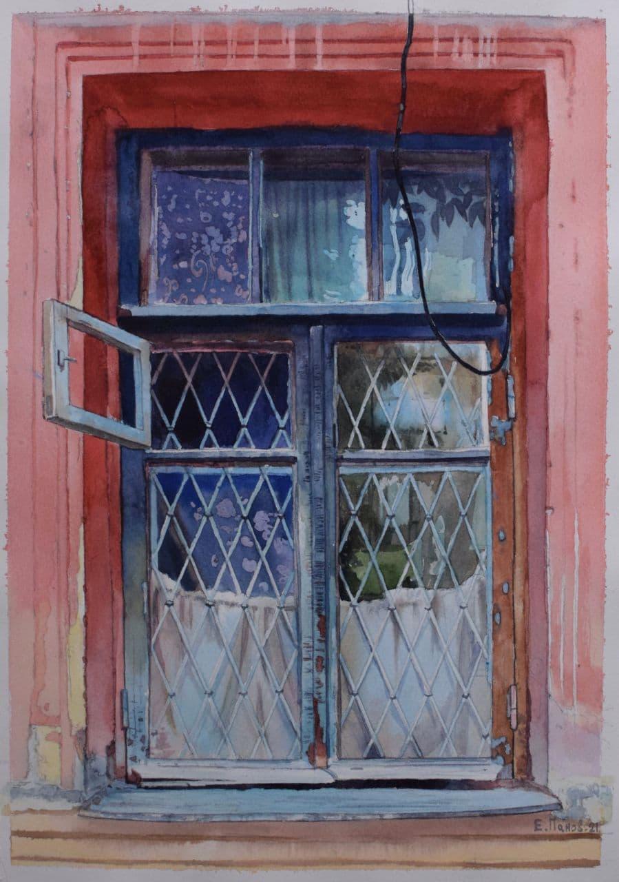 Старое окно на Новомосковской. 2020