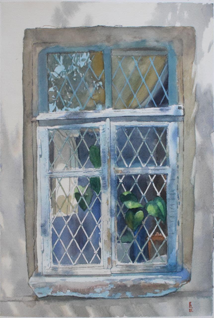 Старое окно. Ташкент. 2021 2