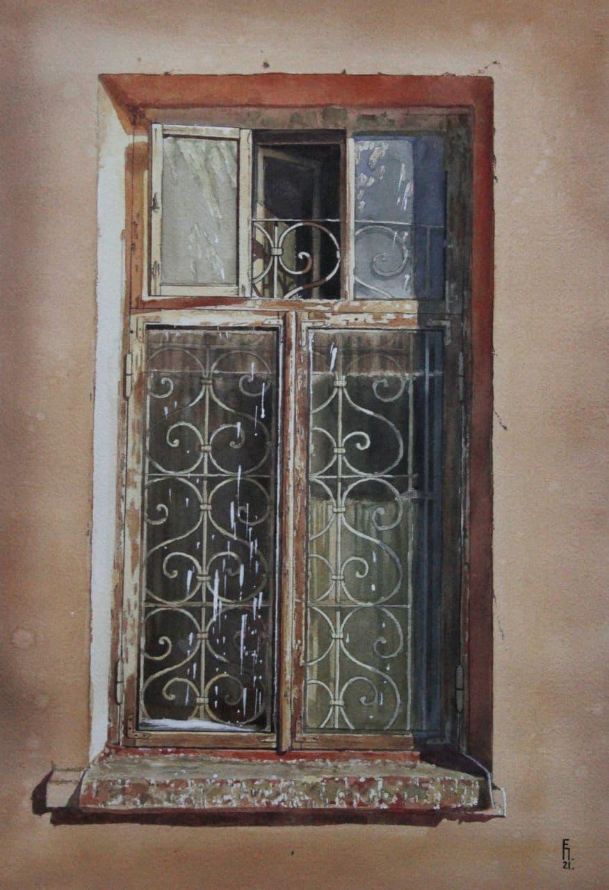 Старое окно. Ташкент. 2021 3