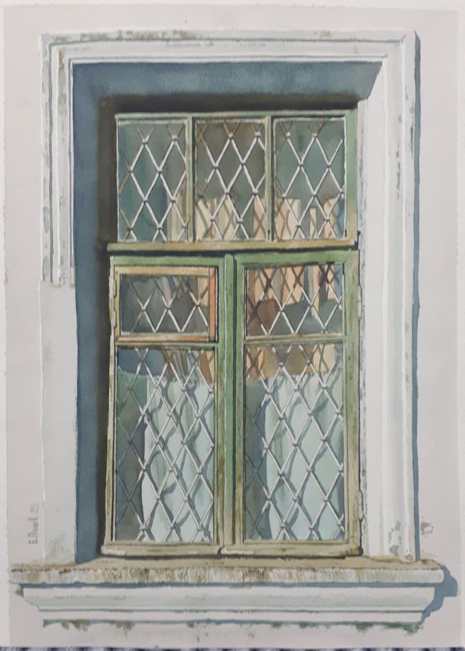 Старое окно. Ташкент. 2021 4