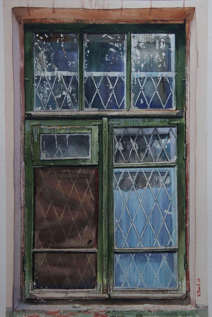 Старое окно. Ташкент. 2021 5