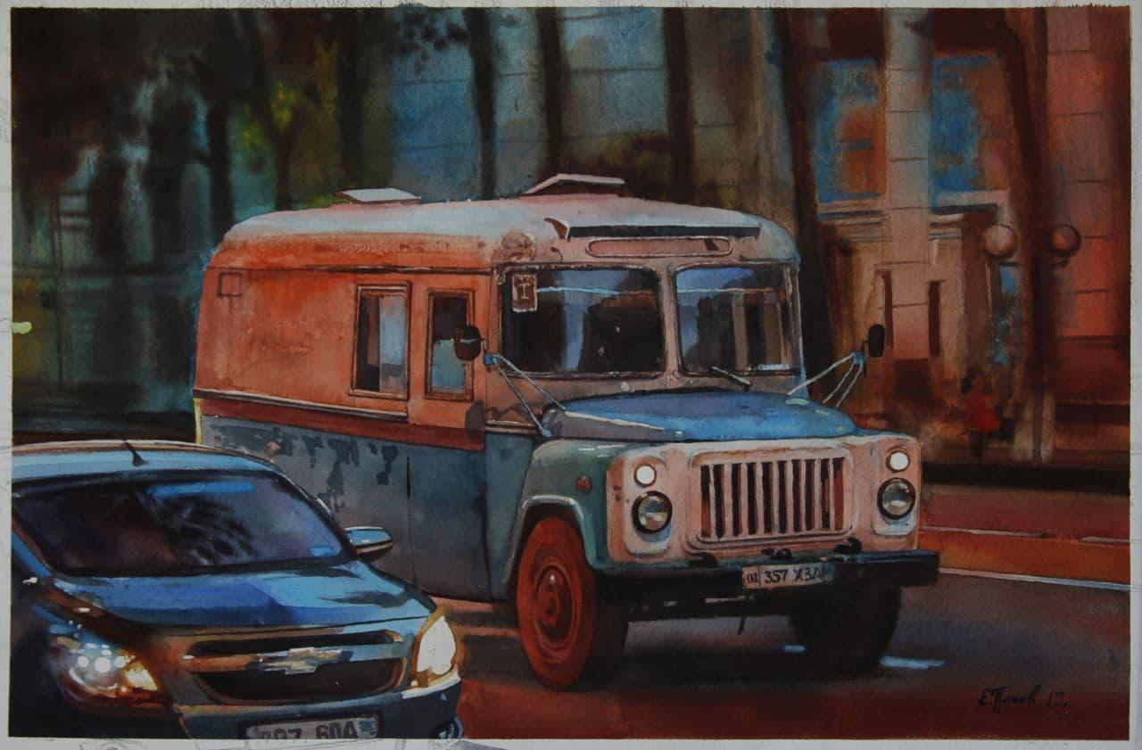 Старый автобус. 2020 2