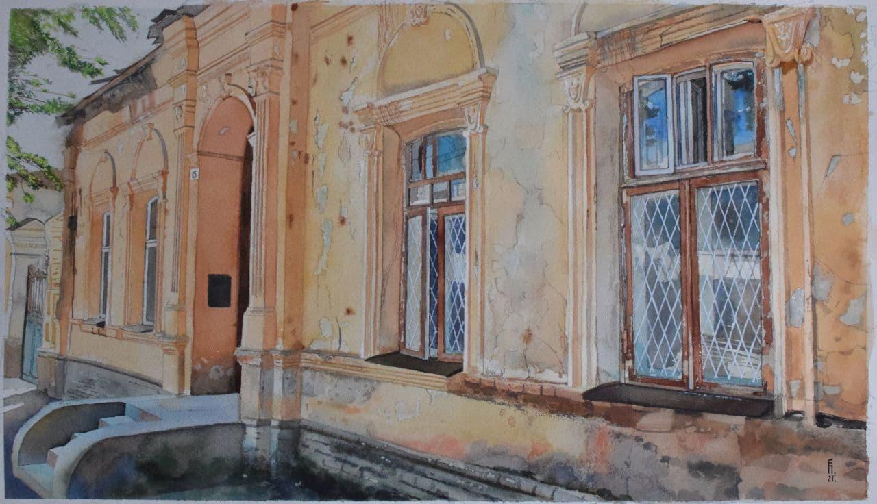 Старый дом на Дархане. 2021