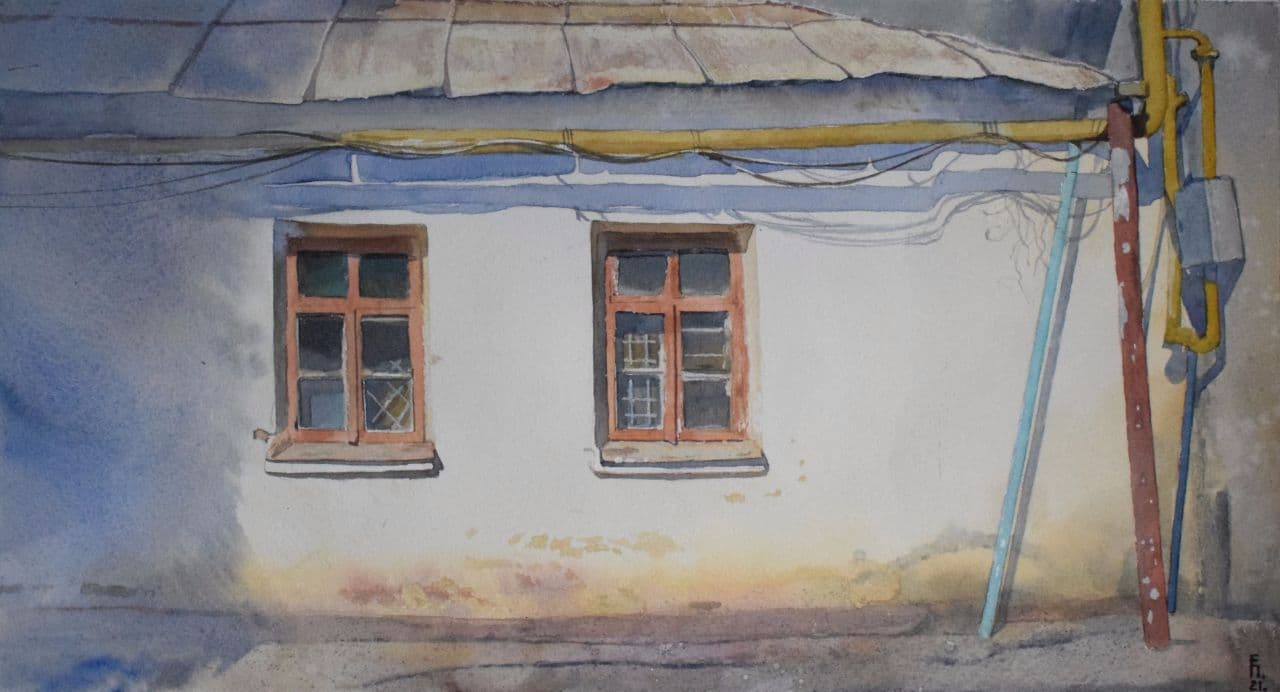Старый дом на Саракульке. 2021