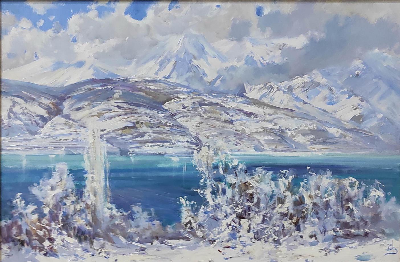 Енин Валерий. Зимние просторы. 2021